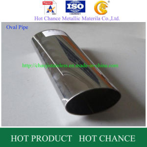 Oval Welding Stainless Steel Pipe pictures & photos