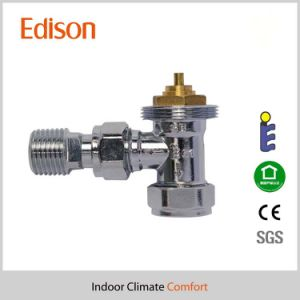 Angle Polishing Thermostatic Radiator Valve with En215 Certificate pictures & photos