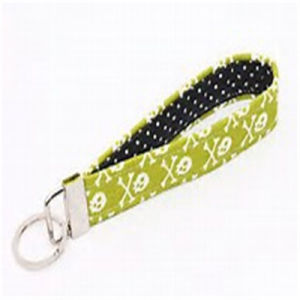 Customized Hot Sale OEM Fabric Key Ring pictures & photos