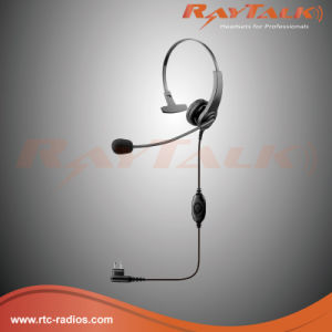 Dual Ear Lightweight Headset with Left Boom Microphone (RHS-0226D) pictures & photos