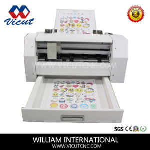 A3+ Mini Desktop Vinyl Cutter Contour Cutter Plotter (VCT-LCS) pictures & photos