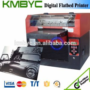A3 Size 6 Colors Flatbed Digital Ceramic Tiles Printer pictures & photos