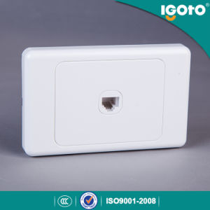 Igoto SAA Approval Australian Standard Power Data RJ45 Wall Socket pictures & photos
