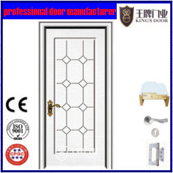 Latest Design Flush MDF PVC Door Price pictures & photos