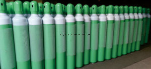250bar 40liter Oxygen Gas Cylinder (QF-2C VALVE) pictures & photos