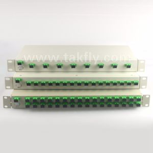 1u 19inch 1X8/1X16/1X32 Rack Mount PLC Splitter pictures & photos