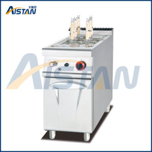 Gh978 Gas Paster Cooker with Cabinet of Catering Equipment pictures & photos