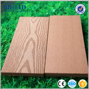 Wholesale Price Wood Grain Grooved WPC Flooring pictures & photos
