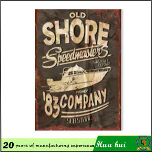 Funny Metal Sign, Family Wall Decor Wave Shape Metal Plates C27 pictures & photos