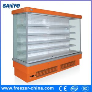 Open Display Refrigerator, Drinks Vegetables Cabinet pictures & photos