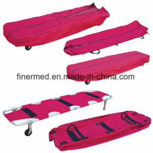 Funeral Mortuary Stretcher with Body Cover pictures & photos