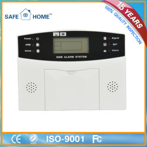 LCD Display Intelligent GSM Home Burglar Alarm with Factory Price pictures & photos
