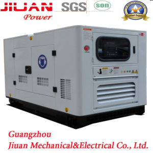 Guangzhou Factory Silent Electric Power 40kw 50kVA Power Diesel Generator Set Genset pictures & photos