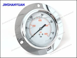 Og-022 Wika Type Pressure Gauge with Front Flange/Liquid Filled Manometer pictures & photos