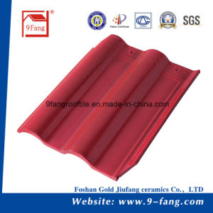 Villa Interlocking Tiles Clay Roofing Tiles Factory Supplier 300*400mm pictures & photos