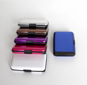 2017 Power Bank Wallet, Built-in USB Cables Wallet Power Bank pictures & photos