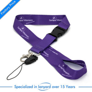 Customized Sublimation Printed Phone Strap Lanyard pictures & photos