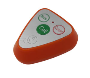 Wireless Waiter Call System Restaurant Call Ce Passed Including Display with Call Bell pictures & photos