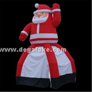 Inflatable Santa Claus Tent Wholesale/Inflatable Family Tent for Christmas pictures & photos