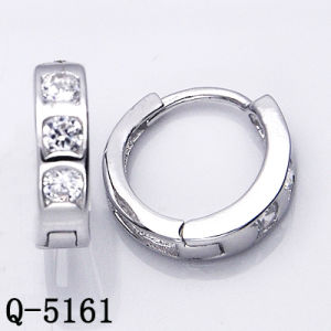 Silver Jewelry Earrings Huggies Factory Wholesale pictures & photos