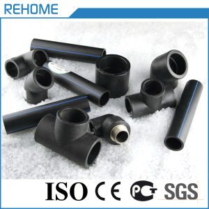 Black 2017 40mm HDPE Pipe Fittings for Water Supply pictures & photos