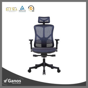 High Back Mesh Office Chair with Alloy Base pictures & photos
