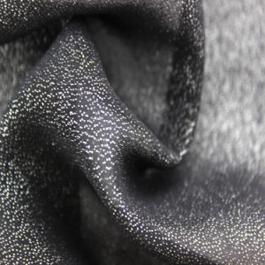 100% Polyester Silver Pressed Light New Style Fashion Fabric for Women Garment pictures & photos