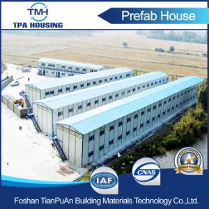 Fire Proof Sandwich Panel Steel Building Prefabricated Mobile House at Conscture Site pictures & photos