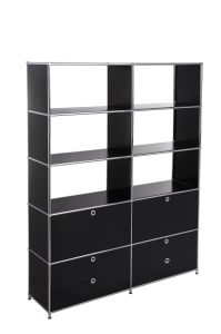 Metal Storage Filing Steel Modular Office Filing Bookshelf pictures & photos