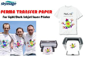 Aw Quality Self Weeding A4 Size Light Heat Transfer Paper for Light-Colored Pure Cotton Substrates pictures & photos