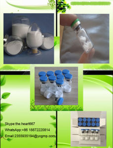High Quality Oxytocin Acetate with Safe Delivery CAS No 50-56-6 pictures & photos