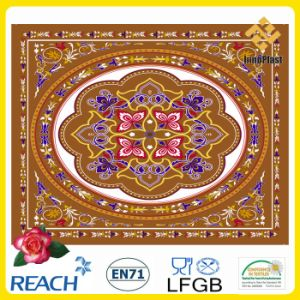 Top Sales PVC Tablecloth in Ramanda Design pictures & photos
