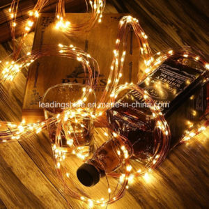 Adaptor Operated LED Fairy Waterfall Lights Warm White Xmas Party Wedding pictures & photos