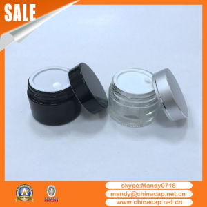 Cosmetic Packaging Aluminum Plastic Cap for Empty Glass Jars pictures & photos