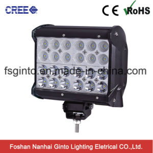 6.5inch 3W Each CREE LED 4row LED Light Bar for 4X4 Offroad pictures & photos