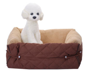 Pet Puppy Cushion Bed for Sofa pictures & photos