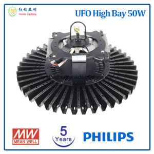 5 Years Warranty UFO LED High Bay 50W with Ce&RoHS Approved pictures & photos