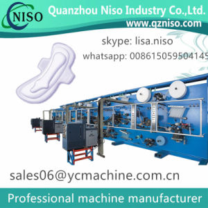 Disposable Sanitary Pads Machine for Always Ultra Thin Pads with Ce Certificate pictures & photos