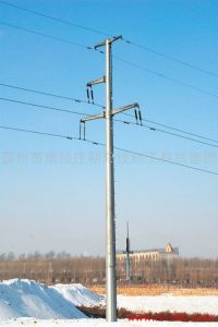 10kV Steel Pipe Tower for Transmission Project pictures & photos