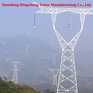 Steel Tubelar Electric Tower pictures & photos