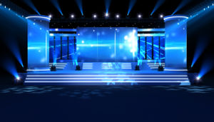 Ce CCC RoHS P4.81 Rental Indoor Video LED Display for Stage pictures & photos