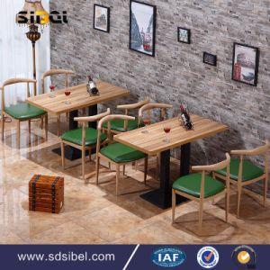 Cafe Shop Furniture Custom Furniture for Restaurant Dt1068 pictures & photos