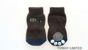 Design Customize Pet Socks Basic Knitting Anti-Skid Dog Socks pictures & photos