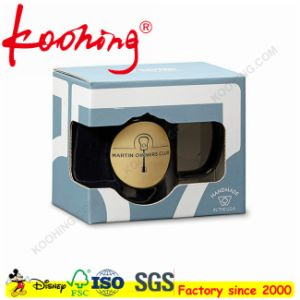 Custom Logo Printing Foldable Box for Cup /Coffee Mug /Gift Packaging with Window pictures & photos