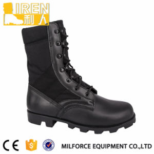 Hot Sell Black Police Tactical Boots pictures & photos