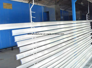 Black or White Powder Coating Aluminium Alloy Extrusion Profile for Door and Window pictures & photos