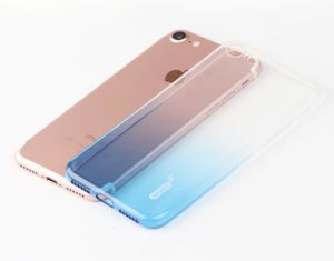 TPU Transparent Gradient Color Anti-Radiation Mobile Phone Cover