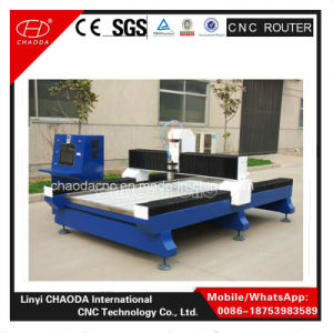 Cheap Jcs1224 CNC Tombstone Engraving Machinery 3 Axis pictures & photos