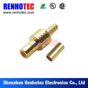 Gold-Plated Plug RF SMB Connector for Cable pictures & photos
