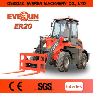 Everun Brand 2017 Ce Approved Articulated 2.0 Ton Wheel Loader with Ce, Rops&Fops Cabin pictures & photos